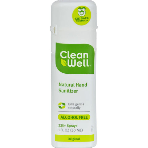 Hand Sanitizer Spray CleanWell 1 oz Spray-Cleanwell-pantryperks