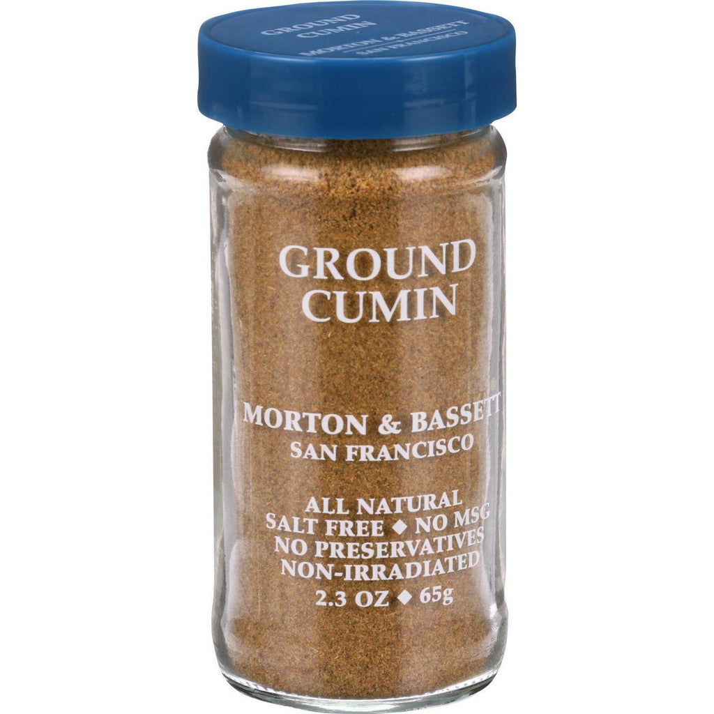 Morton And Bassett Seasoning - Cumin - Ground - 2.3 Oz - Case Of 3-Morton And Bassett-pantryperks