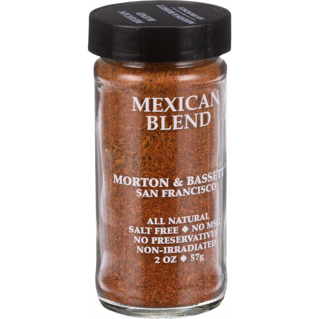 Morton And Bassett Seasoning - Mexican Spice Blend - 2 Oz - Case Of 3-Morton And Bassett-pantryperks