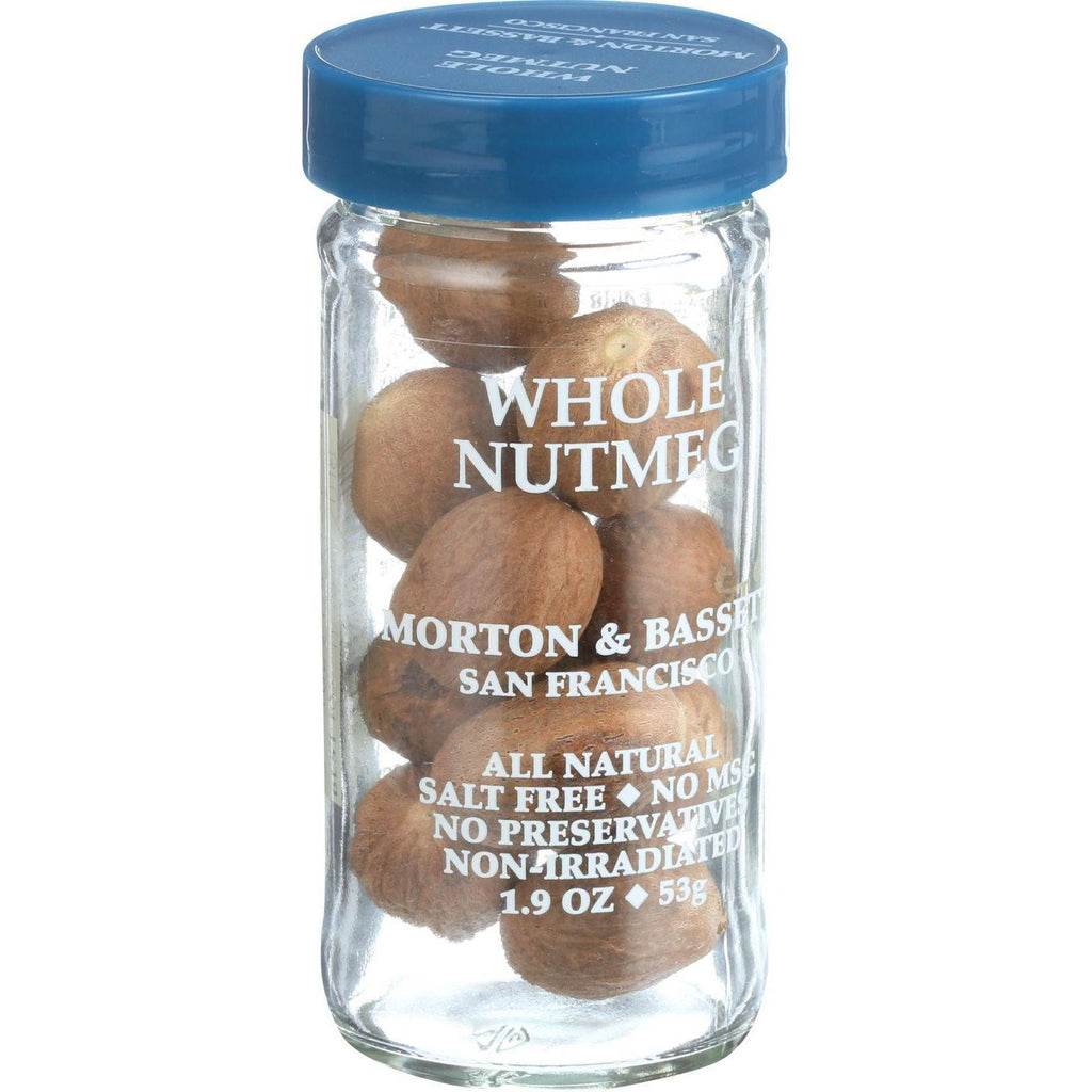 Morton And Bassett Seasoning - Nutmeg - Whole - 2.2 Oz - Case Of 3-Morton And Bassett-pantryperks