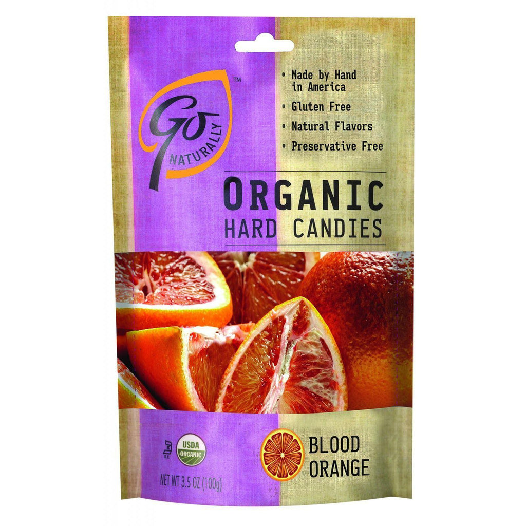 GoOrganic Gluten Free Hard Candies Blood Orange - 3.5 oz-Go Organic-pantryperks