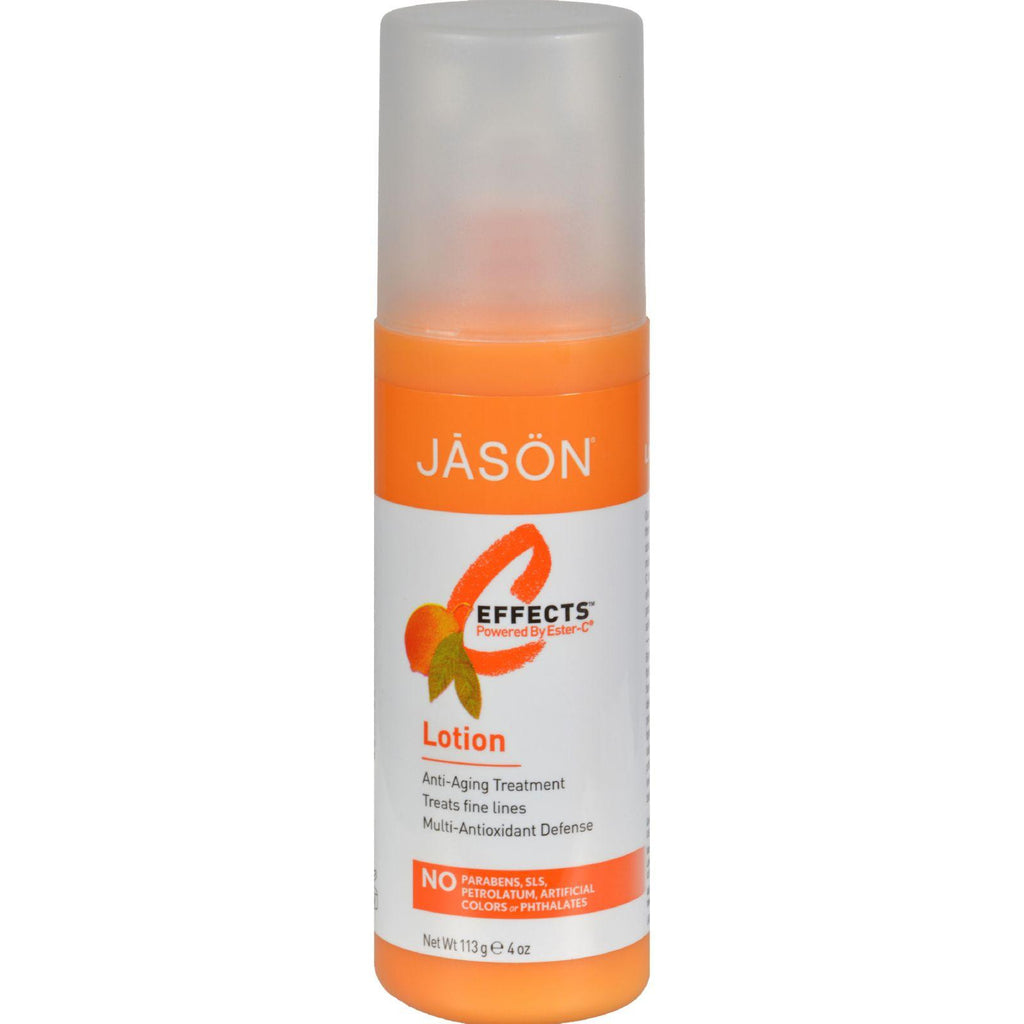 Jason C-Effects‰ã¢ Powered By Ester-Cå¨ Pure Natural Lotion - 4 fl oz-Jason Natural Products-pantryperks
