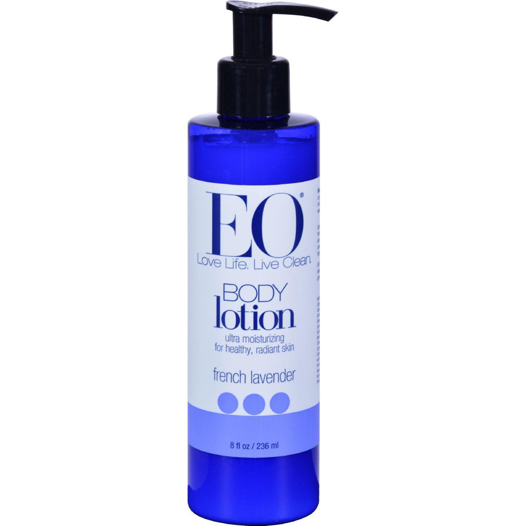 EO Essential Oil Products Body Lotion French Lavender - 8 fl oz-Eo Products-pantryperks