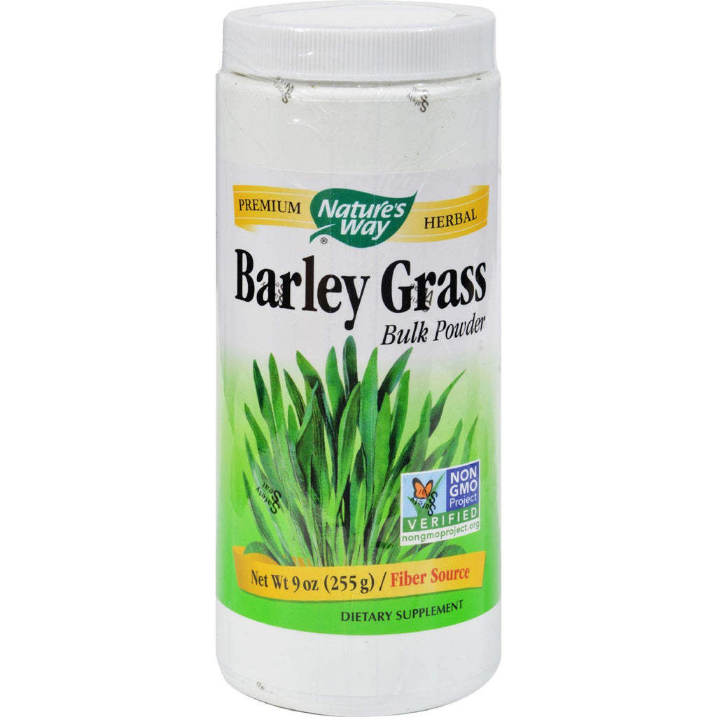 Nature's Way Barley Grass Bulk Powder - 9 Oz-Nature's Way-pantryperks