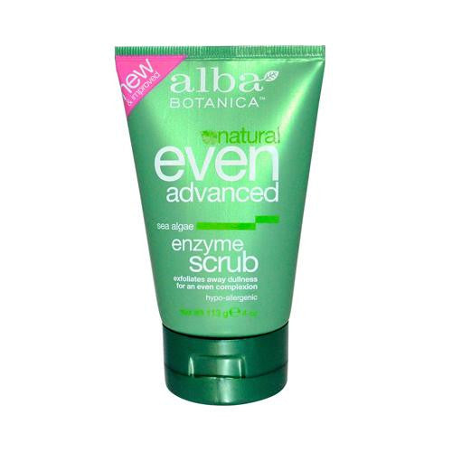 Alba Botanica䋢 Natural Even Advanced Sea Algae Enzyme Scrub - 4 fl oz-Alba Botanica-pantryperks