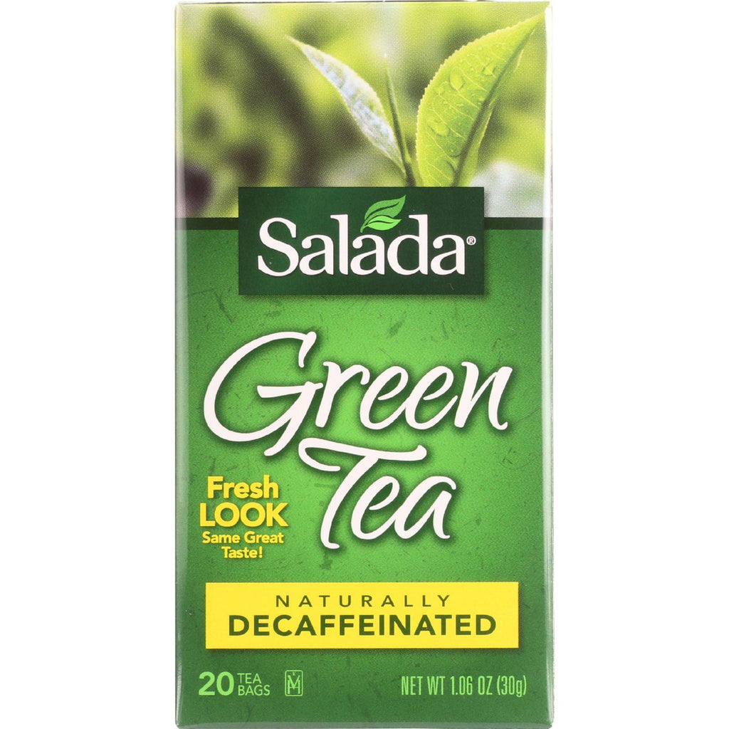 Salada Tea Tea - Green - Pure - Decaf - 20 Count - Case Of 6-Salada Tea-pantryperks