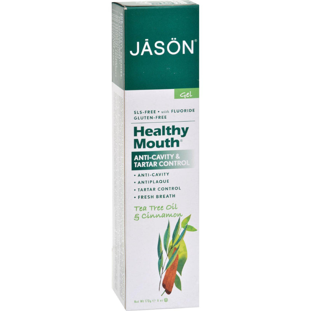 Jason Healthy Mouth Coq10 Tooth Gel - 6 Oz-Jason Natural Products-pantryperks