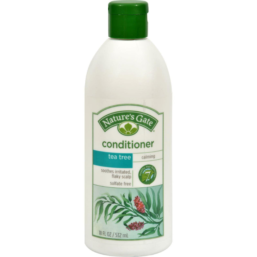 Nature's Gate Calming Conditioner Tea Tree + Sea Buckthorn - 18 fl oz-Nature's Gate-pantryperks