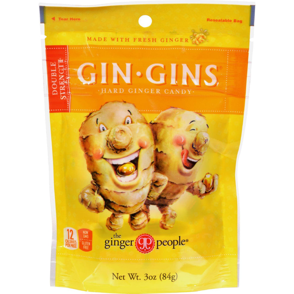 Ginger People Gin-Gins Hard Candy - 3 oz-Ginger People-pantryperks