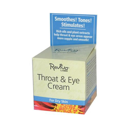 Reviva Labs Throat And Eye Cream - 1.5 Oz-Reviva Labs-pantryperks