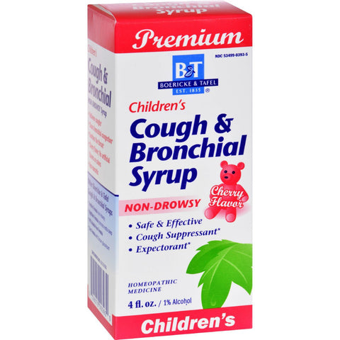Boericke & Tafel Children's Cough and Bronchial Syrup - 4 fl oz-Boericke And Tafel-pantryperks