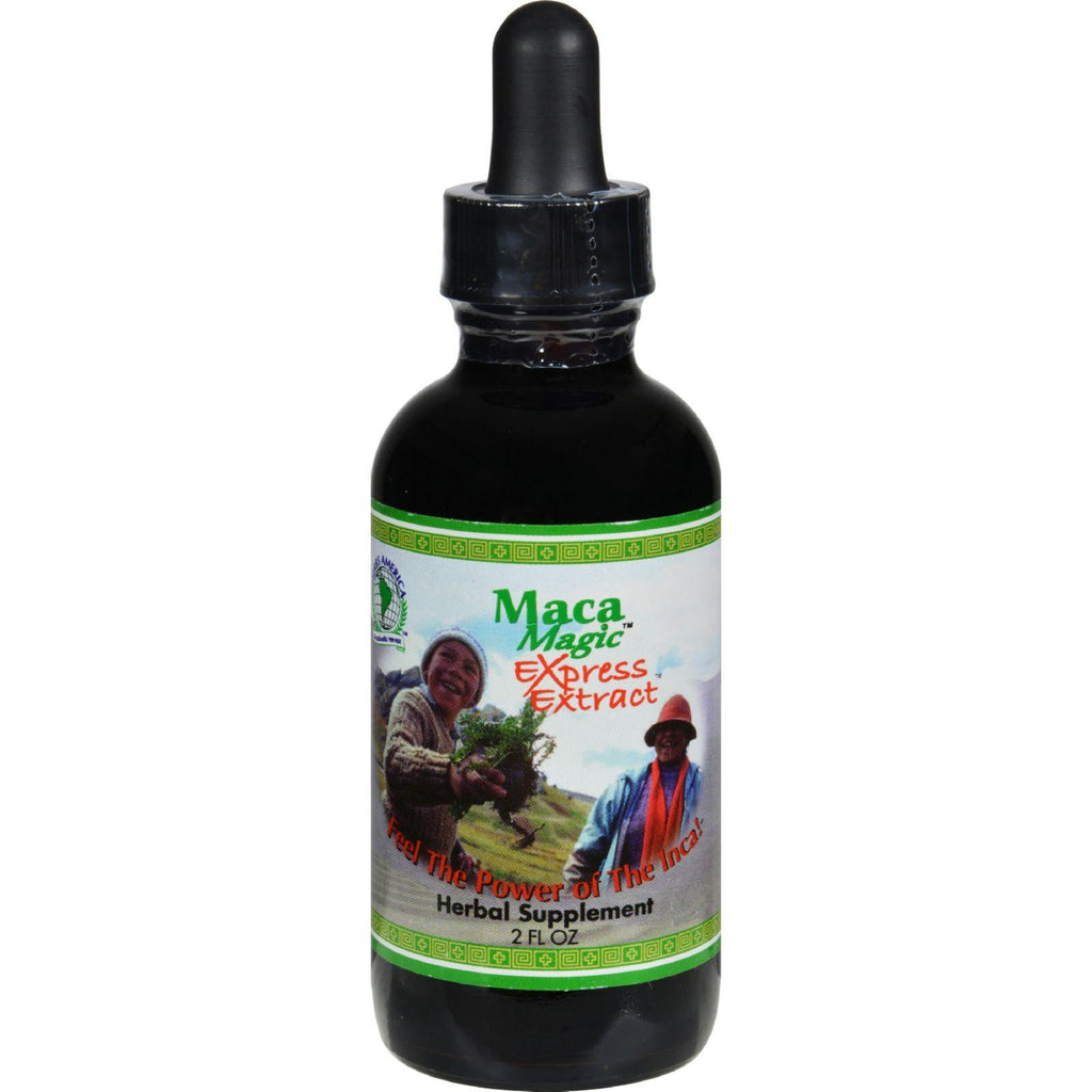 Herbs America Maca Magic Express Energy Extract - 2 Ounce-Maca Magic-pantryperks