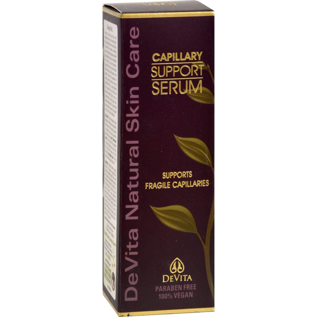 Devita Natural Skin Care Capillary Support Serum - 1 Oz-Devita Natural Skin Care-pantryperks