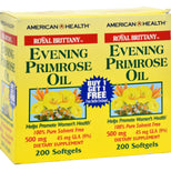 American Health Royal Brittany Evening Primrose Oil - 500 Mg - 2 Bottles Of 200 Softgels-American Health-pantryperks