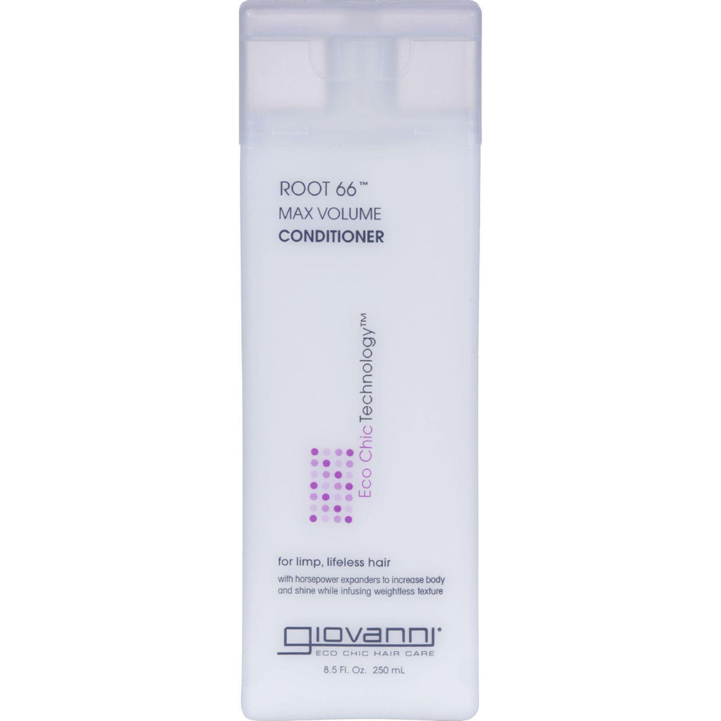 Giovanni Root 66 Max Volume Conditioner - 8.5 Fl Oz-Giovanni Hair Care Products-pantryperks