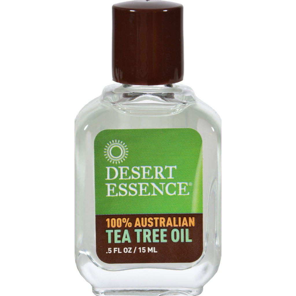 Desert Essence Australian Tea Tree Oil - 0.5 fl oz-Desert Essence-pantryperks