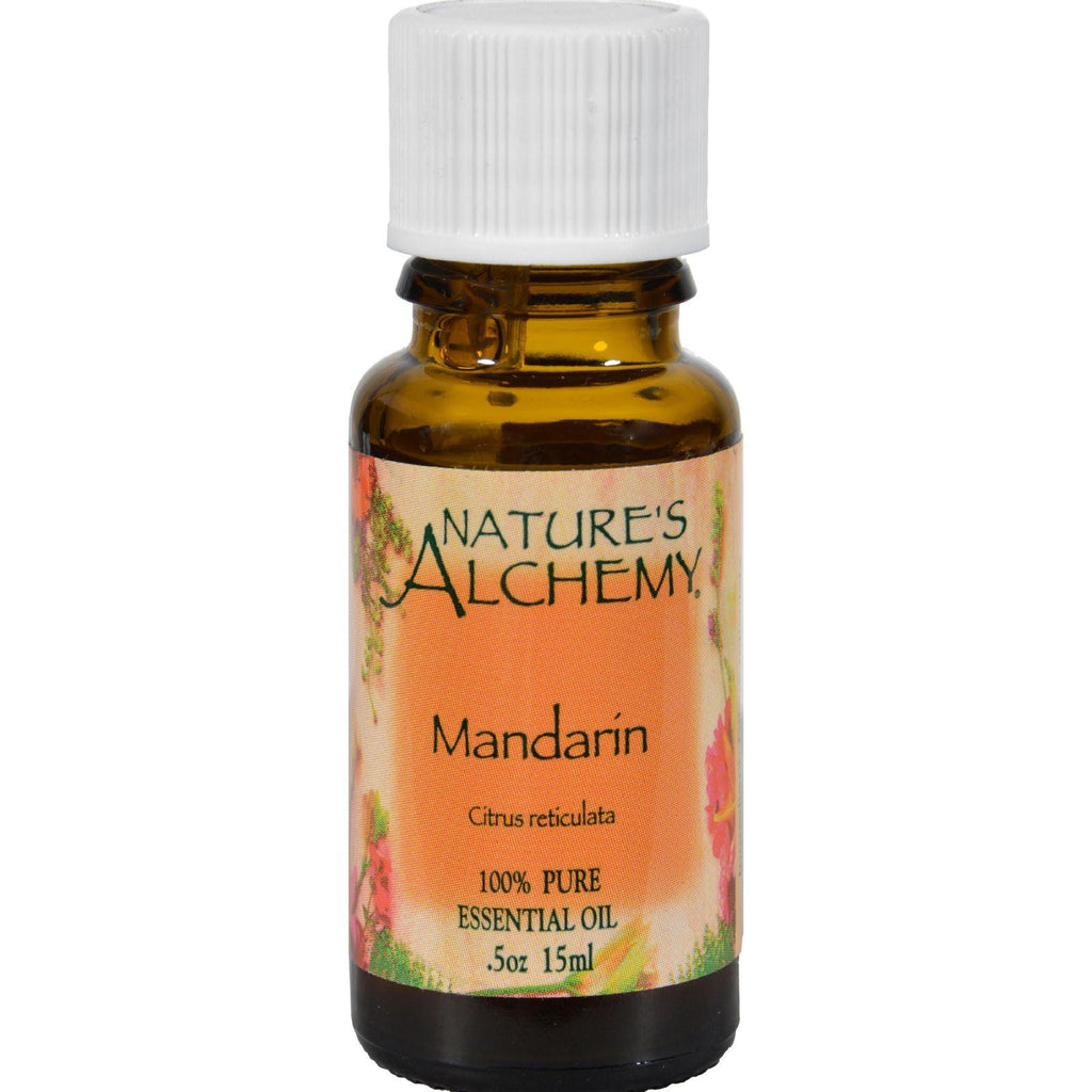 Nature's Alchemy Essential Oil - Mandarin - .5 Oz-Nature's Alchemy-pantryperks