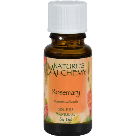 Nature's Alchemy 100% Pure Essential Oil Rosemary - 0.5 Fl Oz-Nature's Alchemy-pantryperks