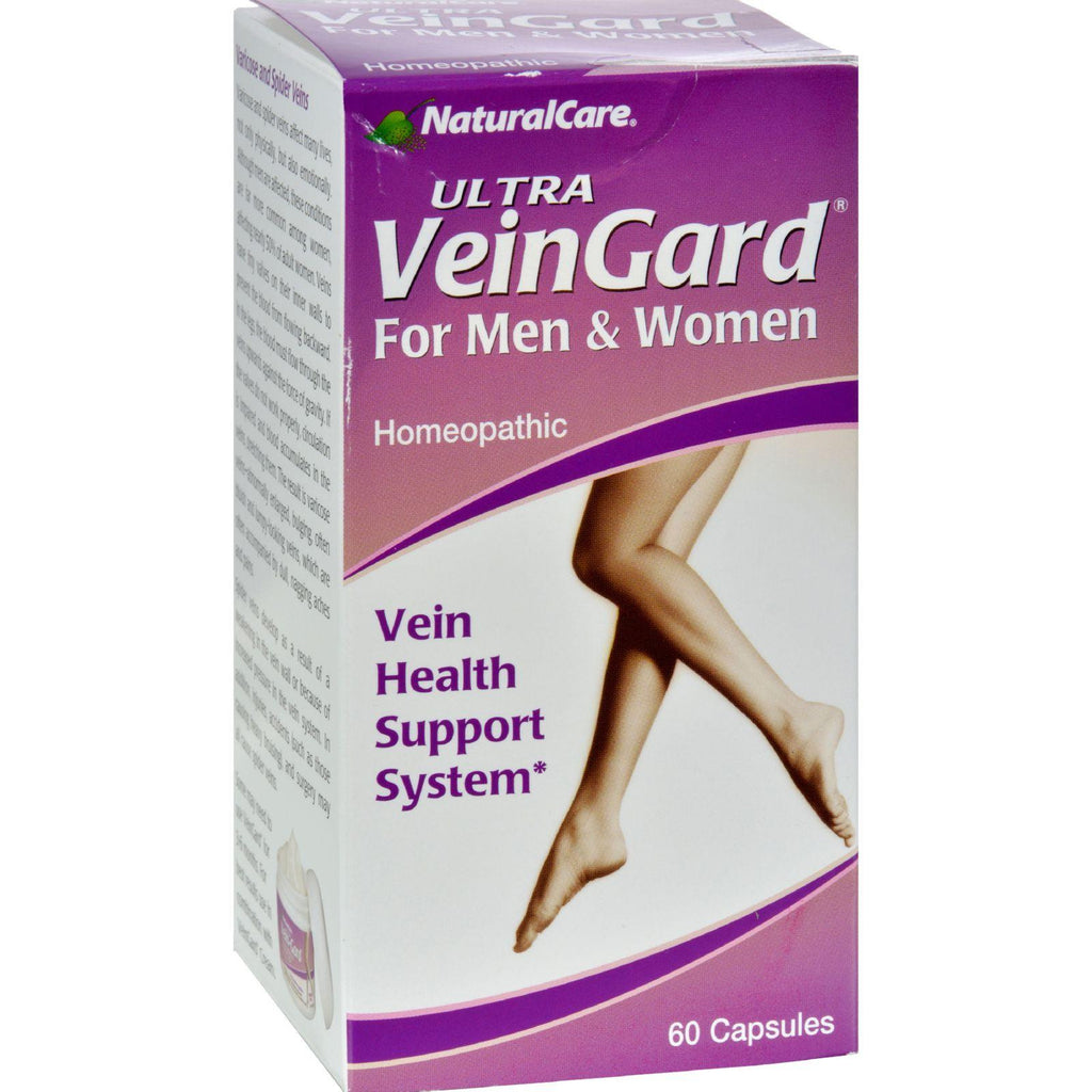 Natural Care Ultra Vein-gard - 60 Capsules-Natural Care-pantryperks