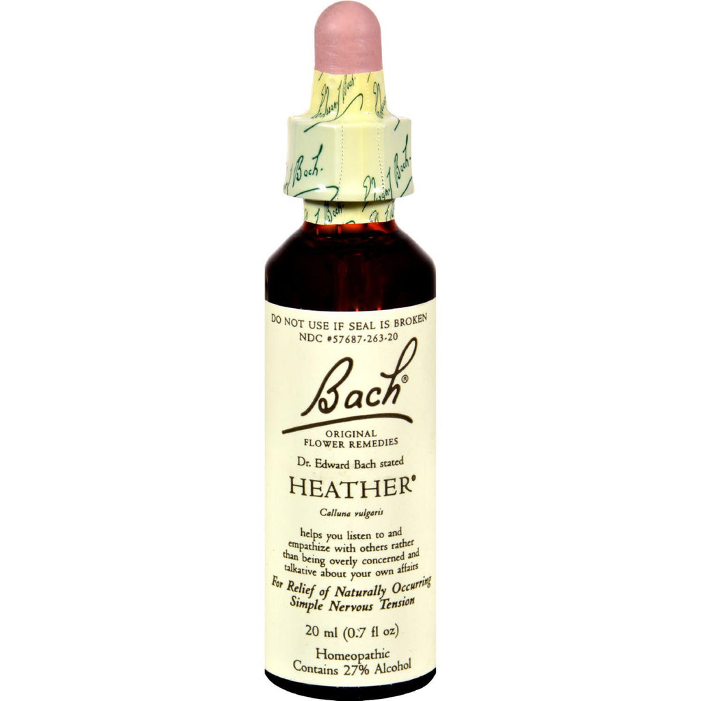 Bach Flower Remedies Rescue Remedy Heather - 0.7 fl oz-Bach-pantryperks