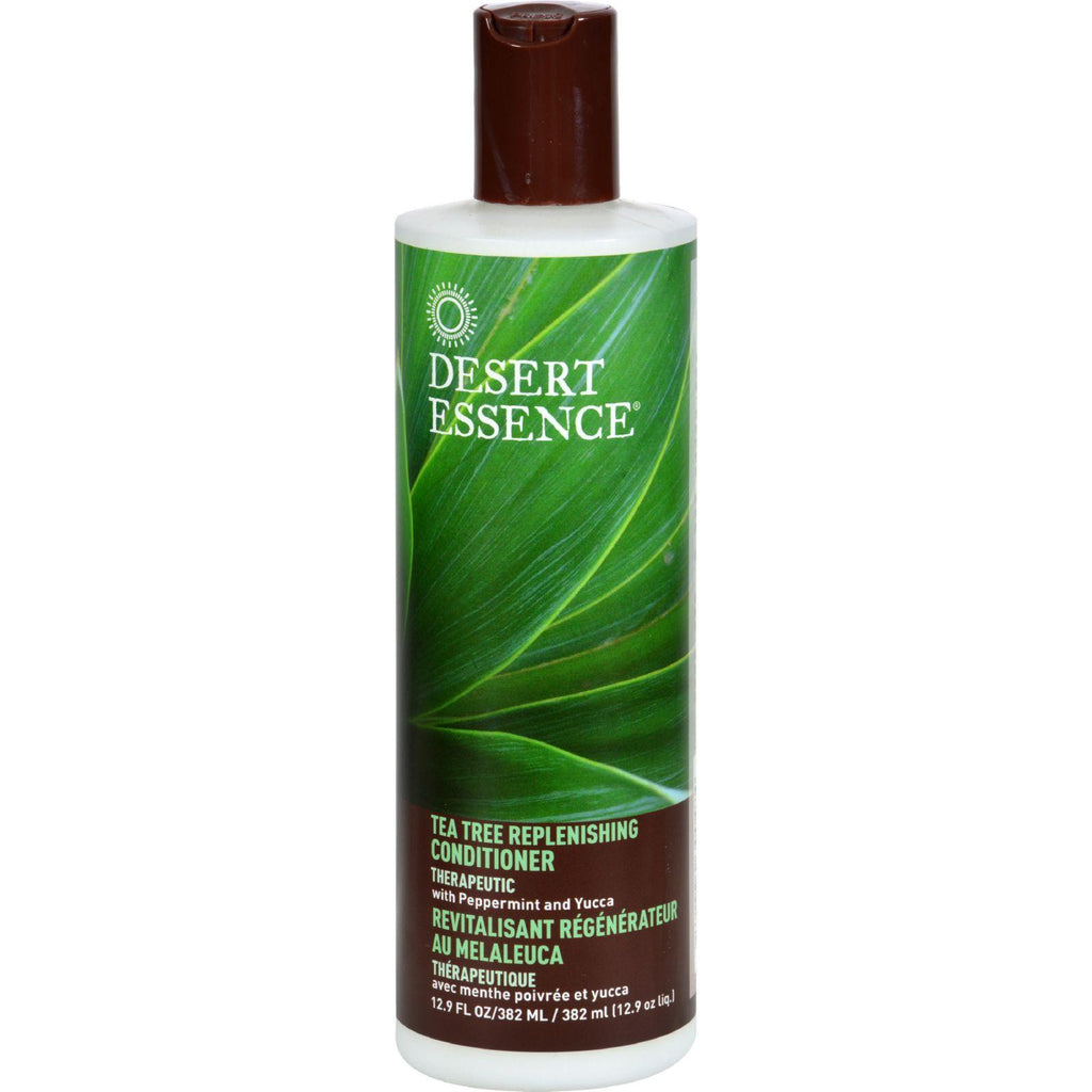 Desert Essence Tea Tree Replenishing Conditioner - 12.9 fl oz-Desert Essence-pantryperks