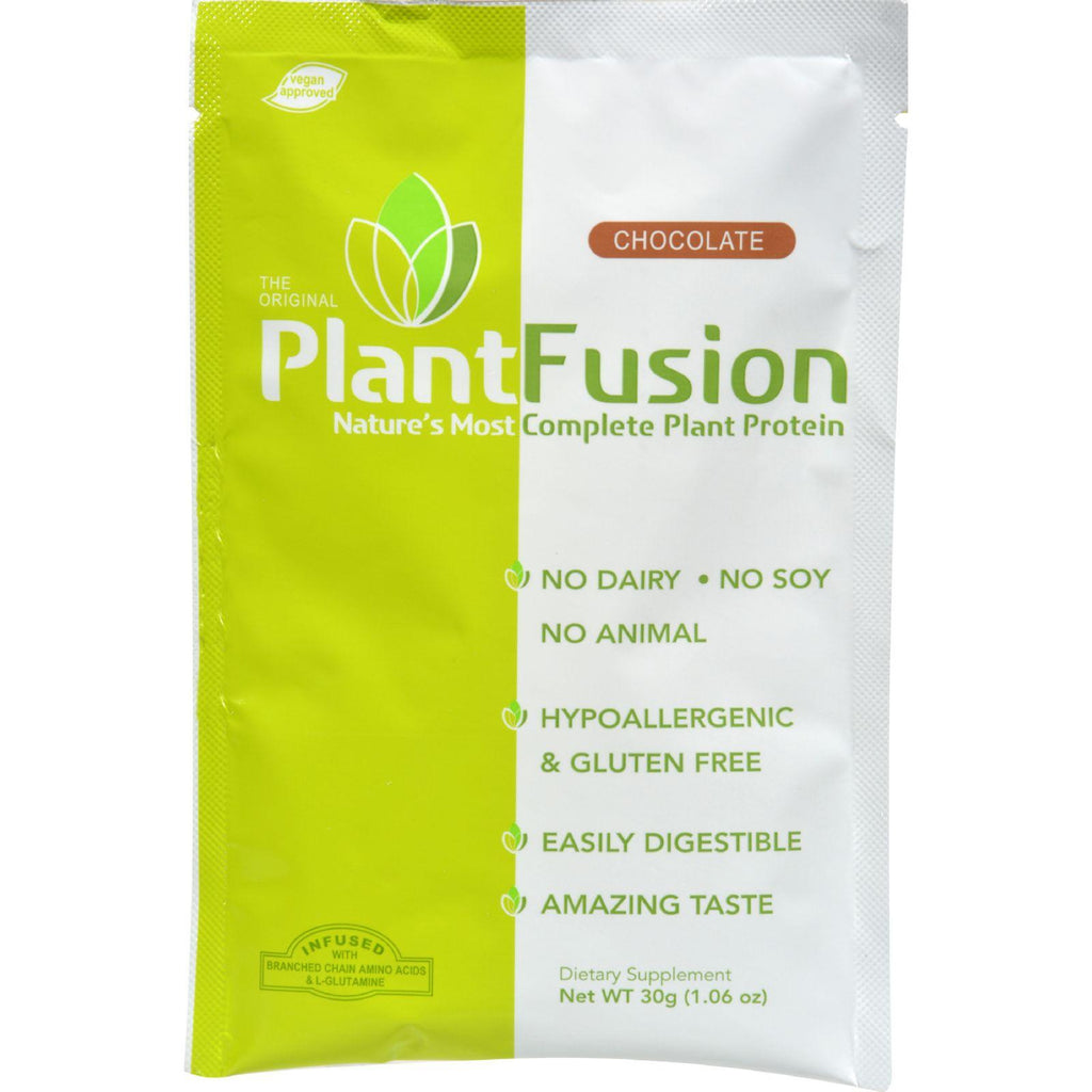 Plantfusion Chocolate Packets - Case Of 12 - 30 Grams-Plantfusion-pantryperks