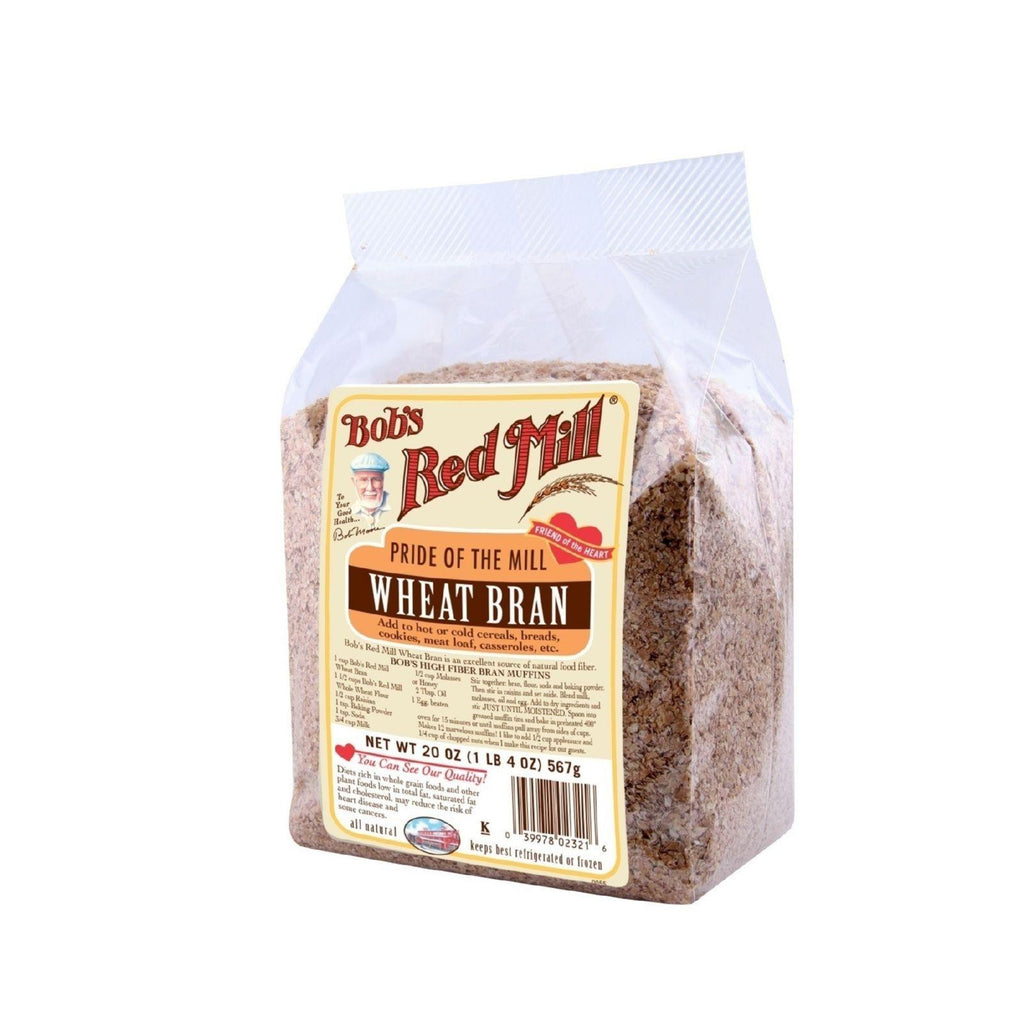 Bob's Red Mill Wheat Bran - 20 Oz - Case Of 4-Bob's Red Mill-pantryperks