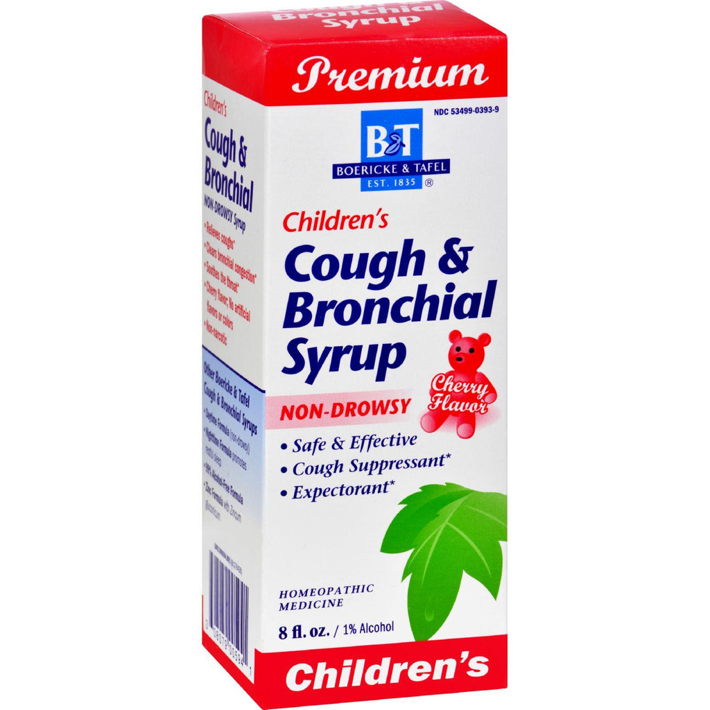 Boericke And Tafel Children's Cough And Bronchial Syrup - 8 Fl Oz-Boericke And Tafel-pantryperks