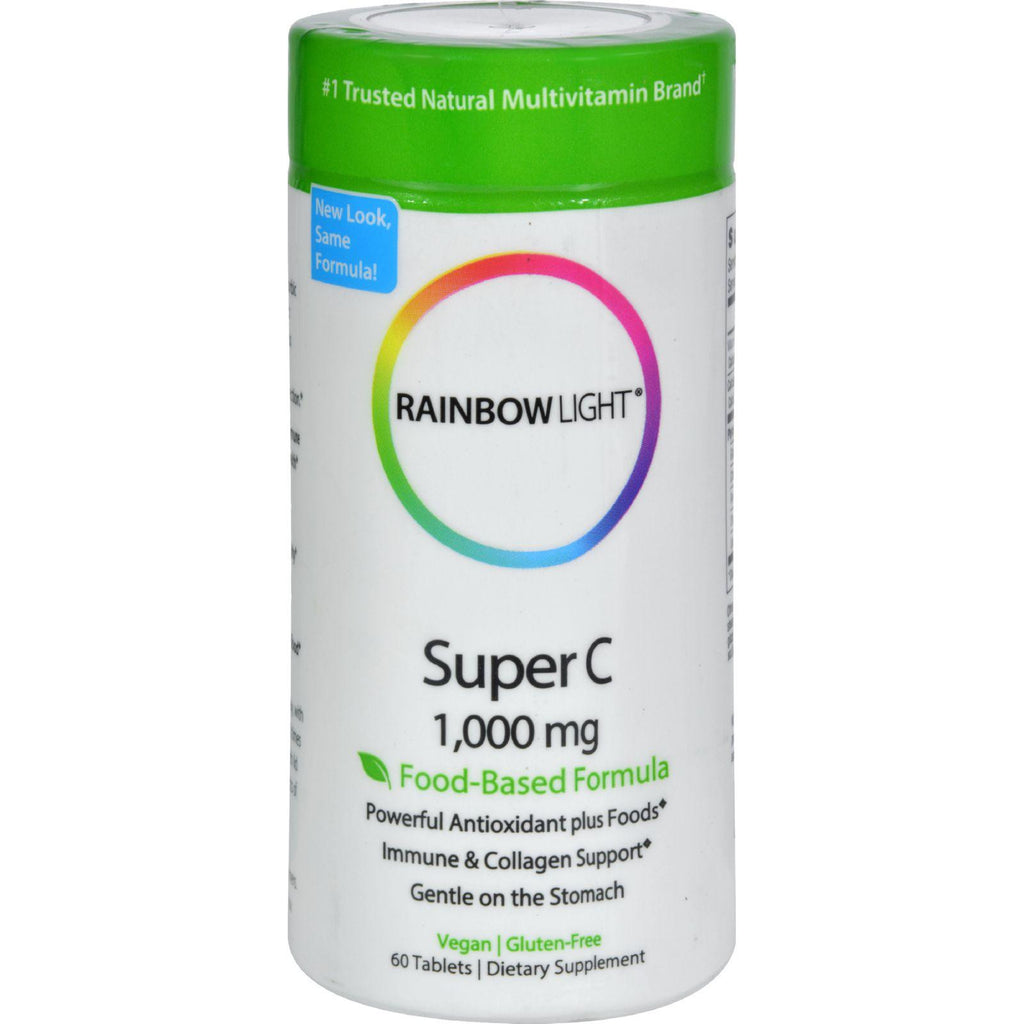 Rainbow Light Super C - 1000 mg - 60 Tablets-Rainbow Light-pantryperks