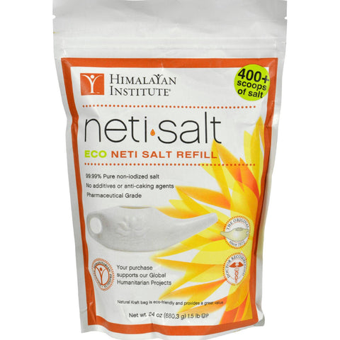 Himalayan Institute Neti Pot Salt Bag - 1.5 Lbs-Himalayan Institute Press-pantryperks