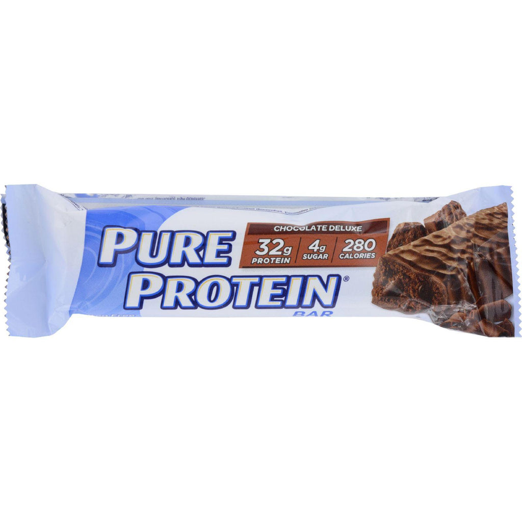Pure Protein Bar - Chocolate Deluxe - Case Of 12 - 78 Grams-Pure Protein-pantryperks