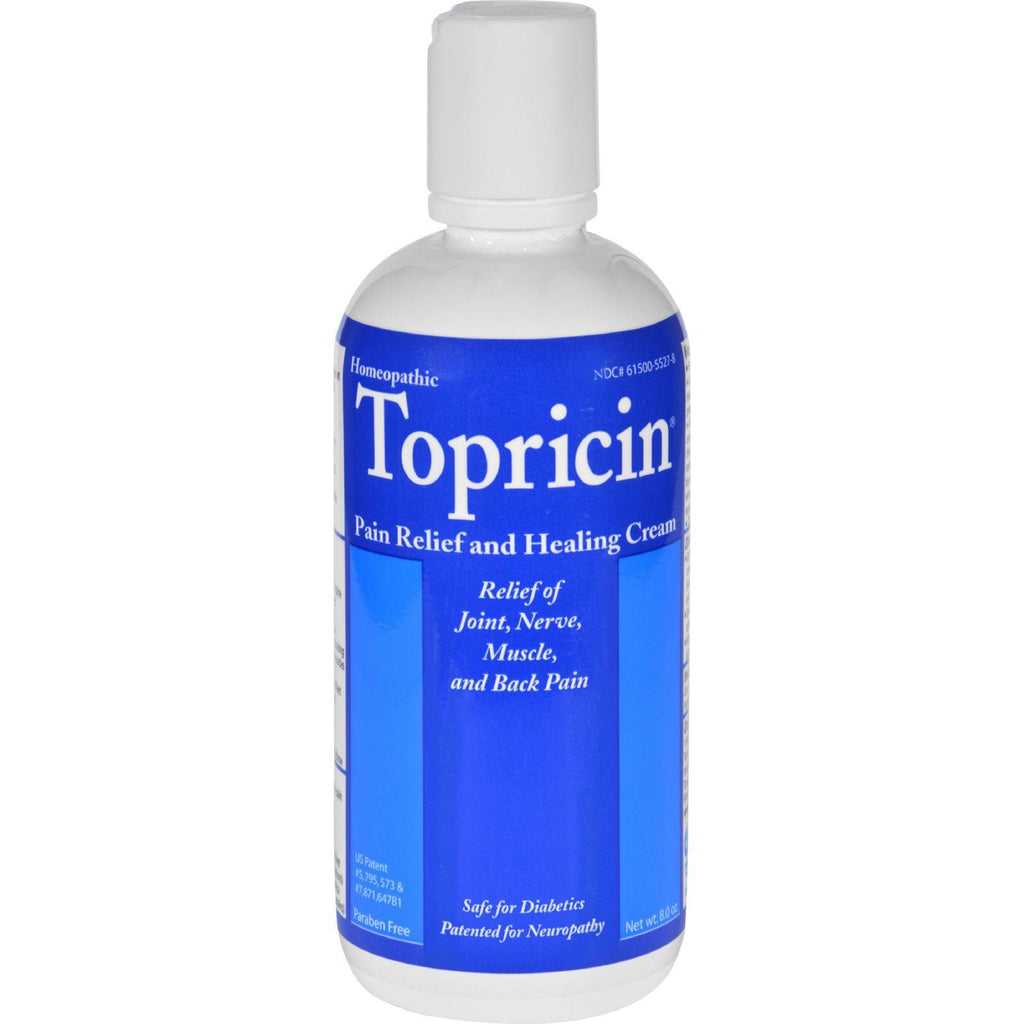 Topricin Pain Relief and Healing Cream Fragrance Free - 8 oz-Topricin-pantryperks
