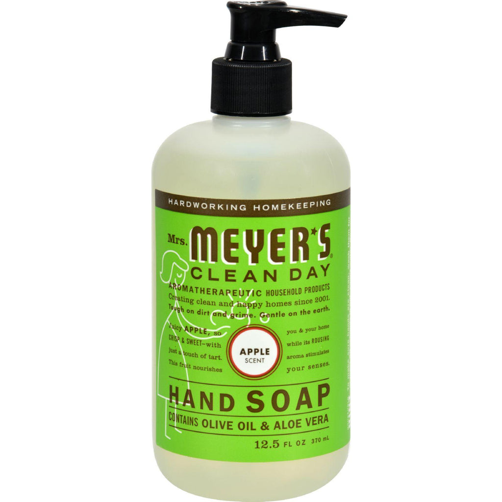Mrs. Meyer's Liquid Hand Soap - Apple - Case Of 6 - 12.5 Oz-Mrs. Meyer's-pantryperks