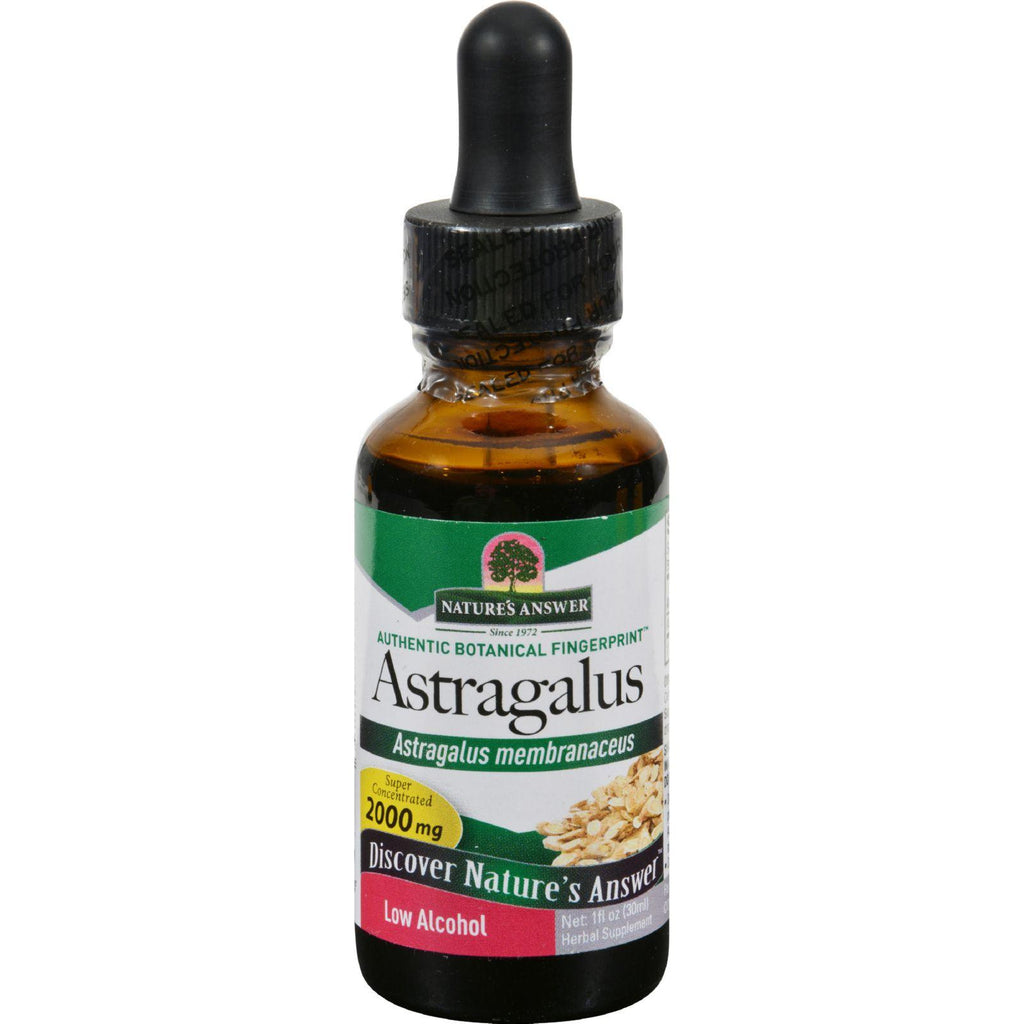 Nature's Answer Astragalus Root - 1 Fl Oz-Nature's Answer-pantryperks