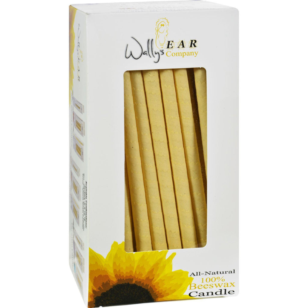 Wally's Natural Products 100% Beeswax Candles - Case Of 75-Wally's Natural Products-pantryperks
