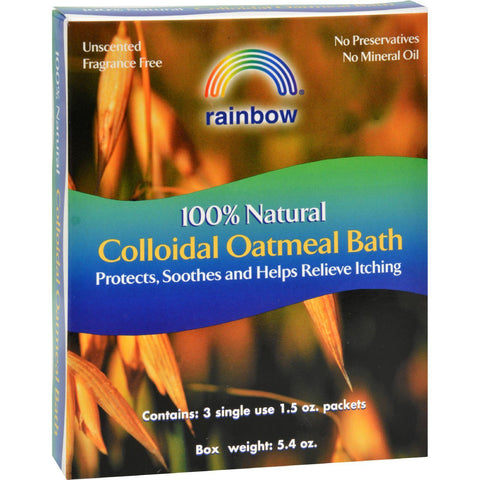 Rainbow Research Collodial Oatmeal Bath - 3 Packets-Rainbow Research-pantryperks