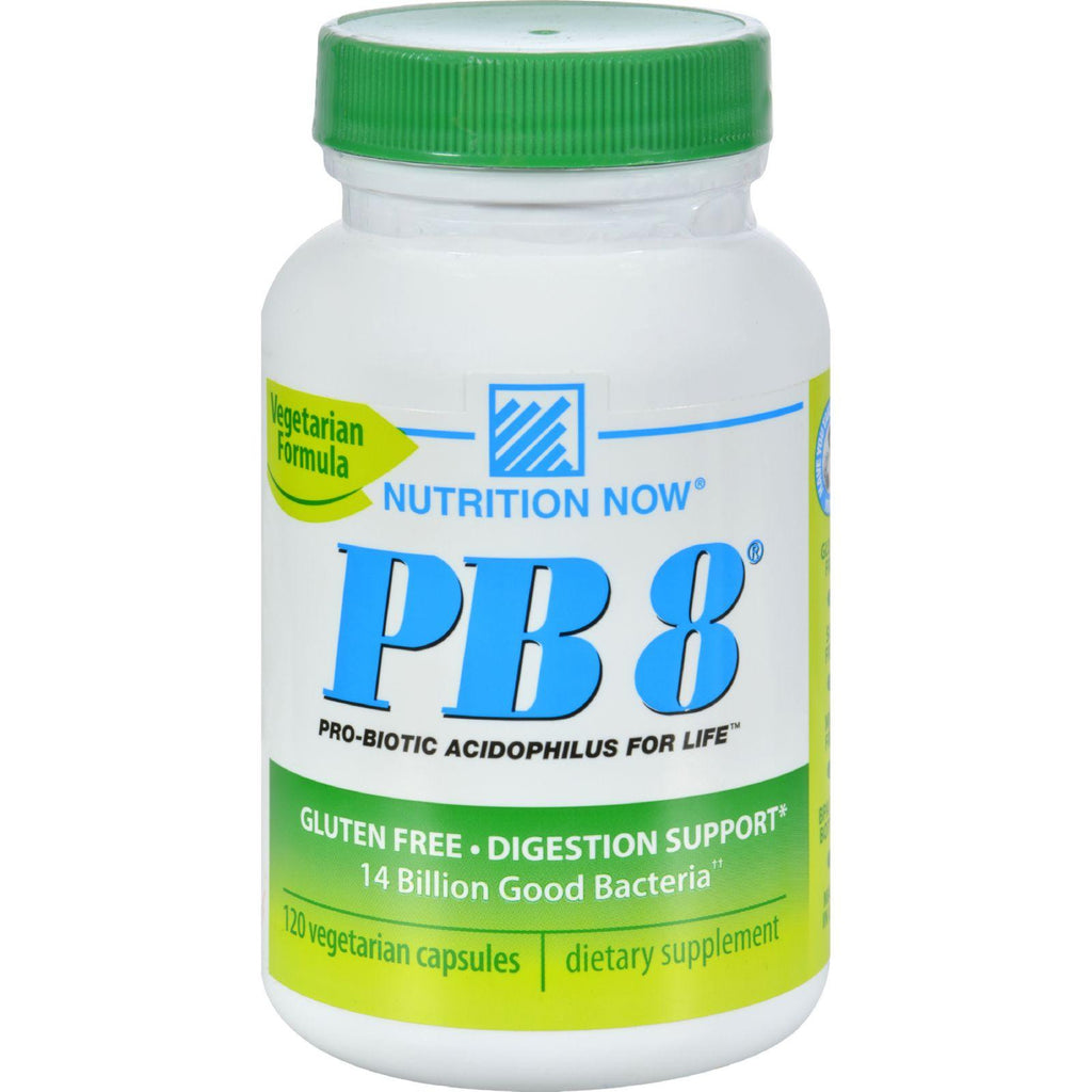 Nutrition Now PB 8 Pro-Biotic Vegetarian Supplement - 120 Count-Nutrition Now-pantryperks