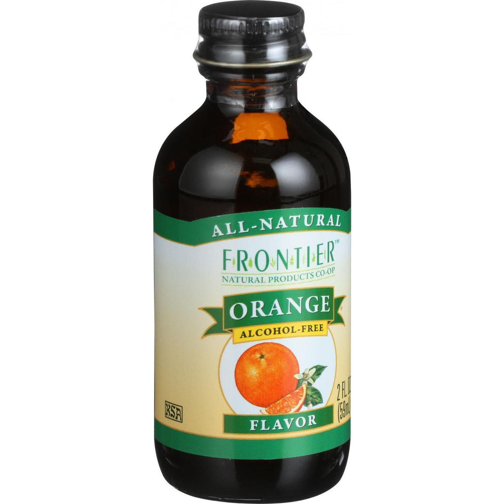 Frontier Co-Op Orange Flavor Non-Alcoholic - 2 fl oz-Frontier Herb-pantryperks