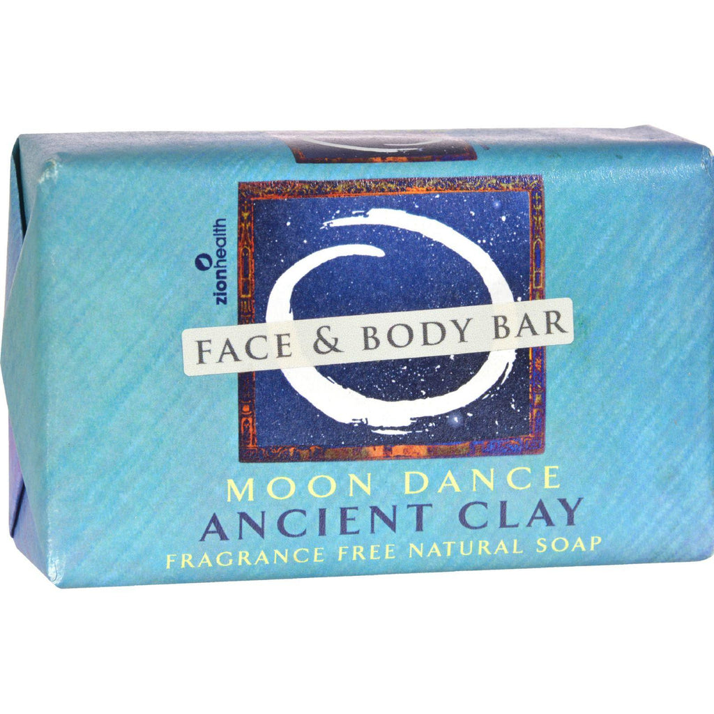 Zion Health Moon Dance Clay Soap - Fragrance Free - 6 Oz-Zion Health-pantryperks