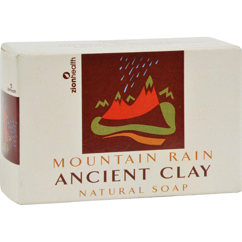 Zion Health Clay Soap - Mountain Rain - 6 Oz-Zion Health-pantryperks