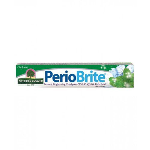 Nature's Answer PerioBriteå¨ Toothpaste Cool Mint - 4 oz-Nature's Answer-pantryperks