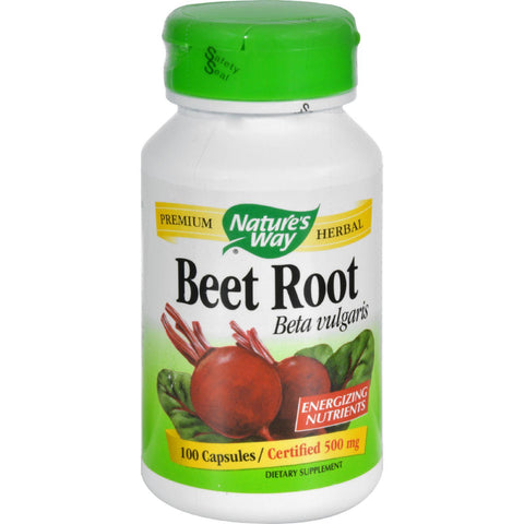 Nature's Way Beet Root Beta Vulgaris - 100 Capsules-Nature's Way-pantryperks