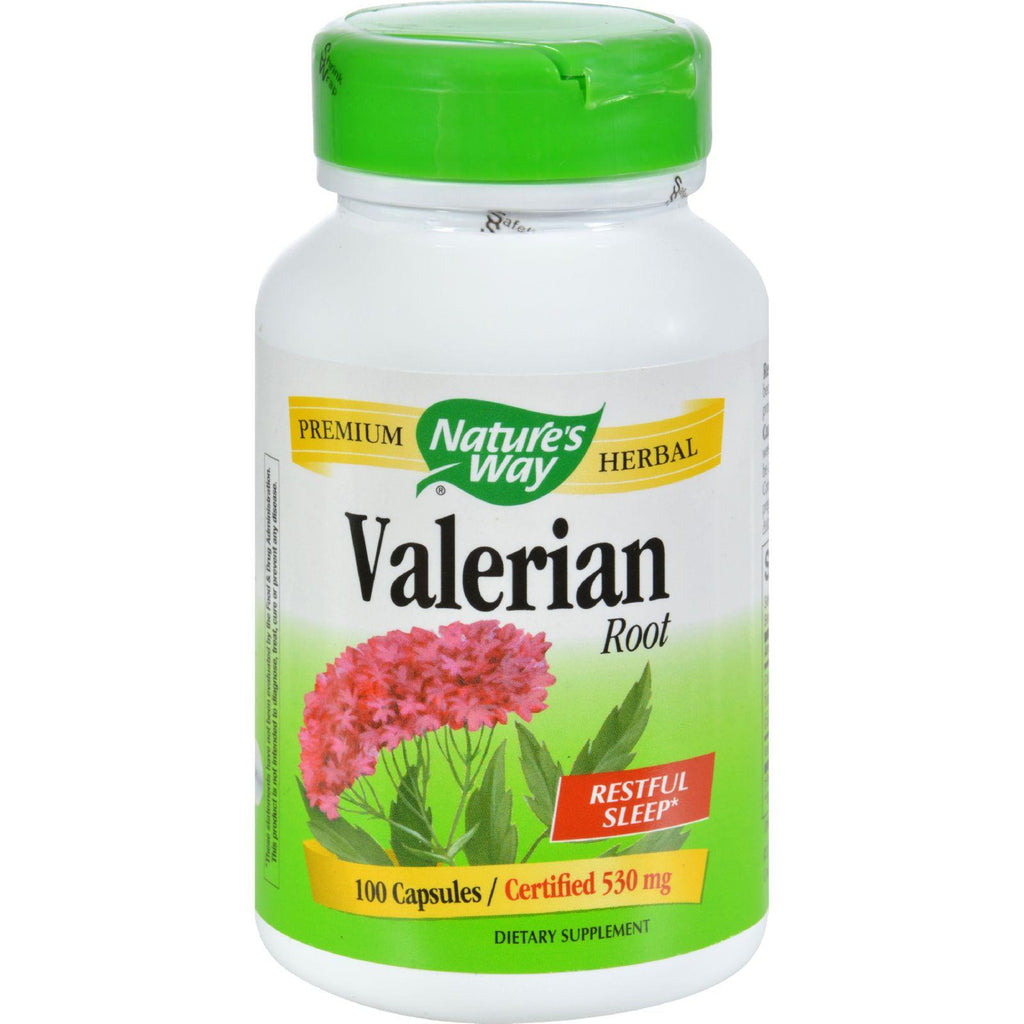 Nature's Way Valerian Root - 100 Capsules-Nature's Way-pantryperks
