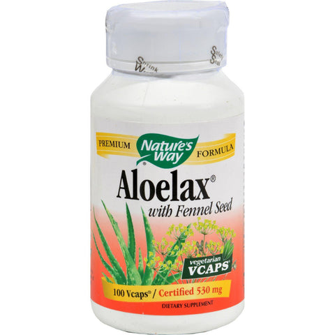 Nature's Way Aloelax® with Fennel Seed - 100 Vegetarian Capsules-Nature's Way-pantryperks