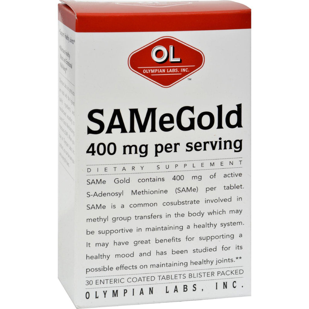 Olympian Labs Same Gold - 400 Mg - 30 Tablets-Olympian Labs-pantryperks