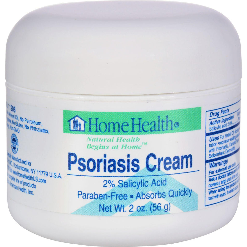 Home Health Psoriasis Cream - 2 Oz-Home Health-pantryperks