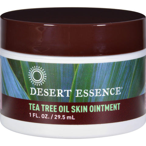 Desert Essence Tea Tree Oil Skin Ointment - 1 fl oz-Desert Essence-pantryperks