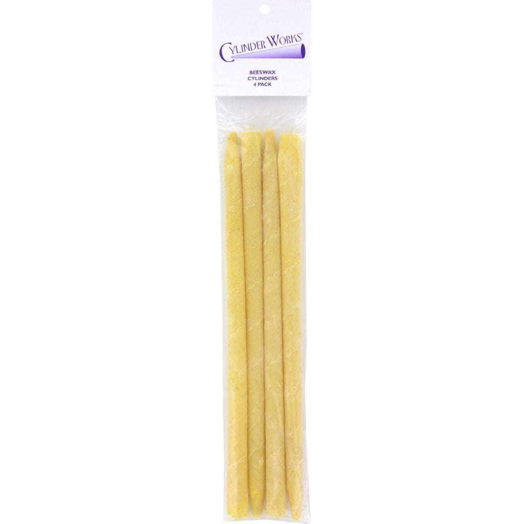 Cylinder Works Beeswax Ear Candles - 4 Pack-Cylinder Works-pantryperks