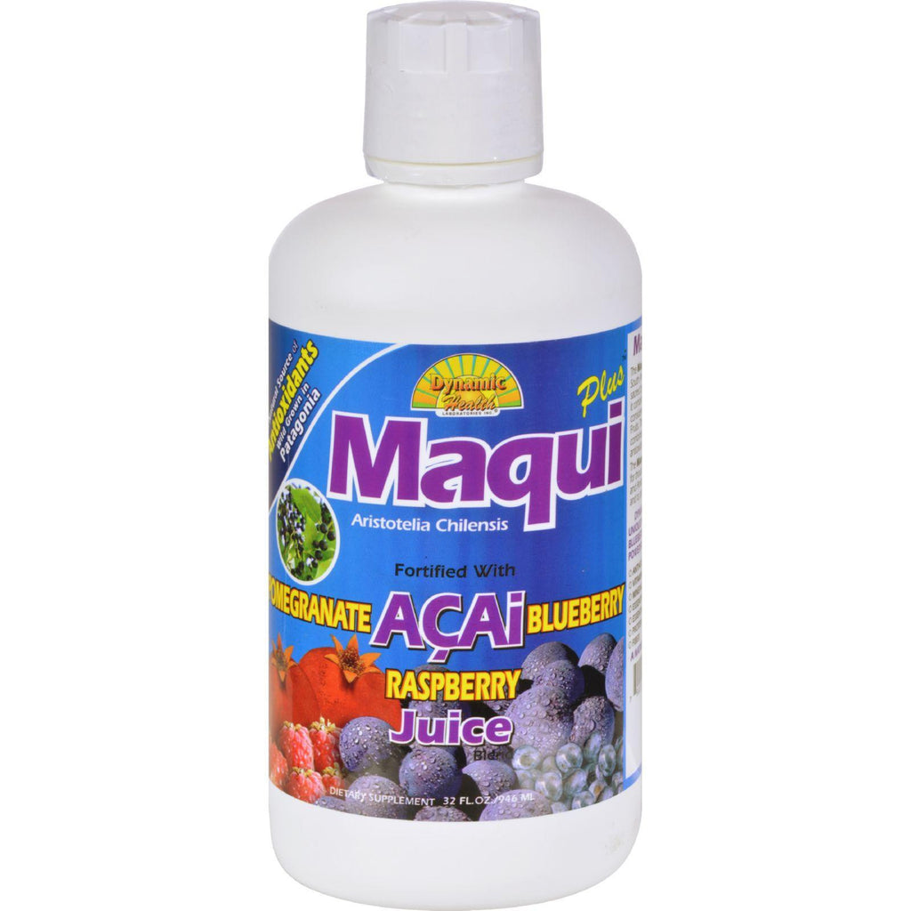 Dynamic Health Maqui Plus Juice Blend - 32 Fl Oz-Dynamic Health-pantryperks