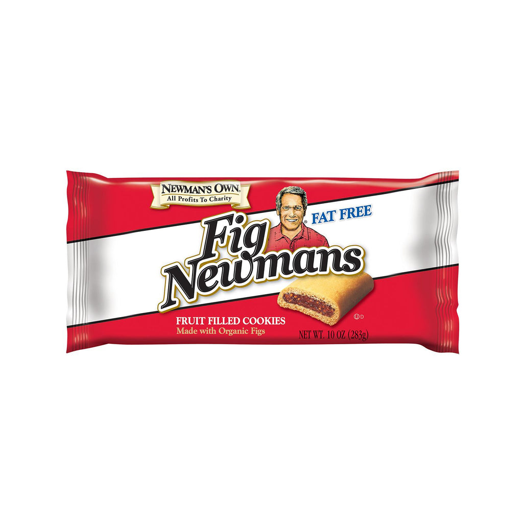 Newman's Own Organics Fig Newman's - Fat Free - Case Of 6 - 10 Oz.-Newman's Own Organics-pantryperks